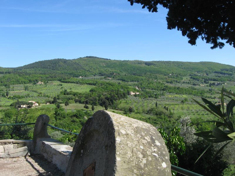 View from Villa di Campolungo