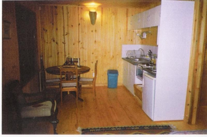 kitchenette/dining room