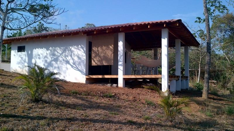 the house in dry season, just built