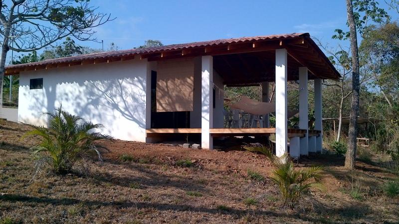 la casa en la temporada seca, construida