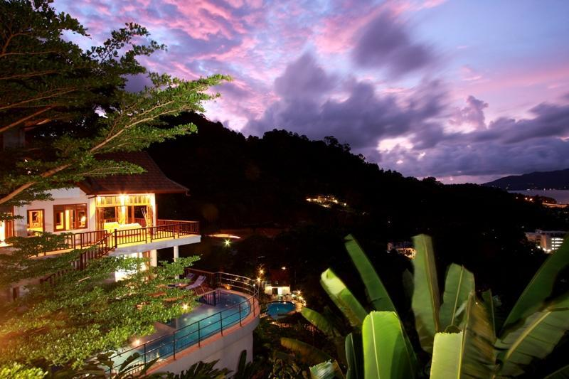 Patong Hill Estate 5 bedroom private pool villa with sea views of Patong Bay