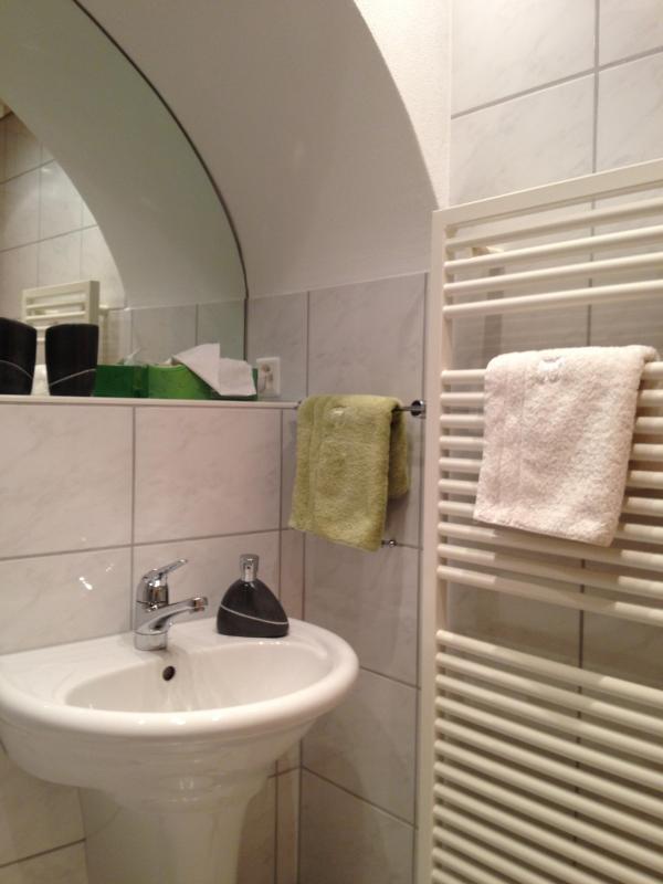 Cuarto de baño recién reformado