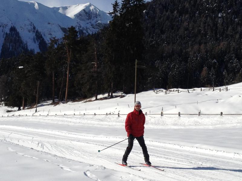 Todo esquí tipos de ejecución para todas las edades desde principiante a profesional. Tenemos un entrenador de esquí en la familia.