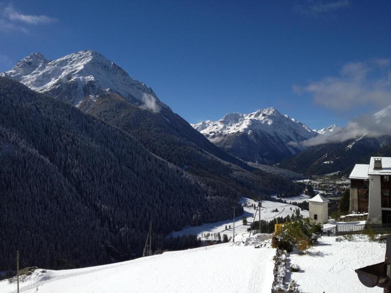 Vista en dirección de St. Moritz / Upper Engadine.