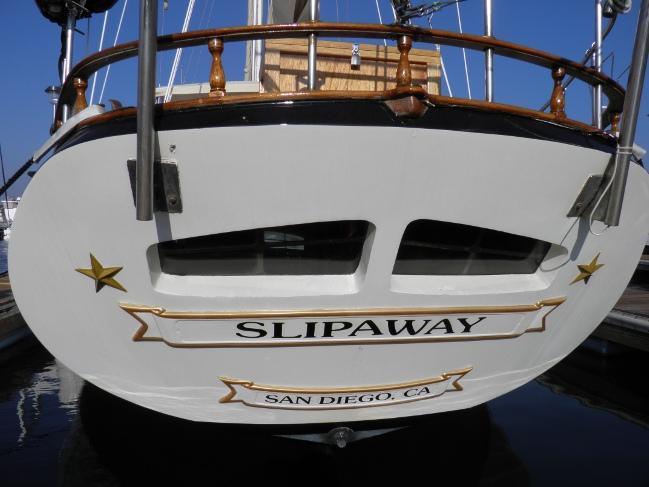 Vue arrière du Slipaway