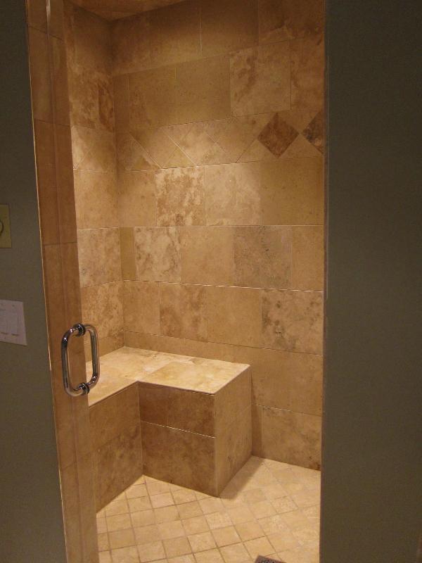 Basement Steam Shower