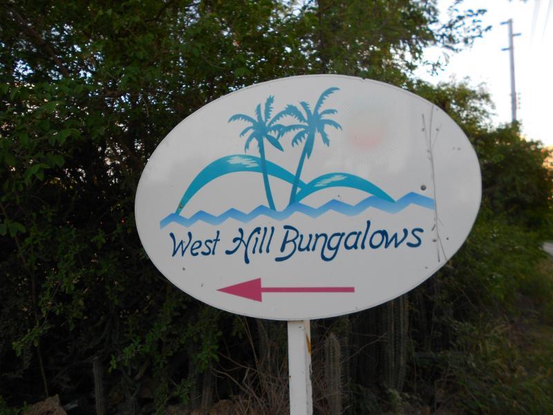 Wegwijzer naar westhill bungalows