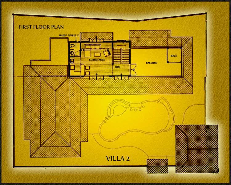 Banyan Villa 2 First Floor Plan
