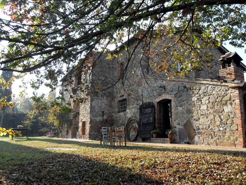 The villa in Autumn