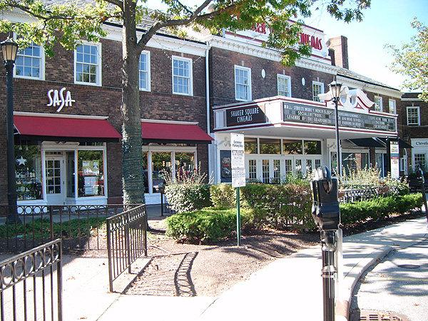 Hip restaurants, cinema, and Saturday morning  Farmers Market at Shaker Square, two blocks away.