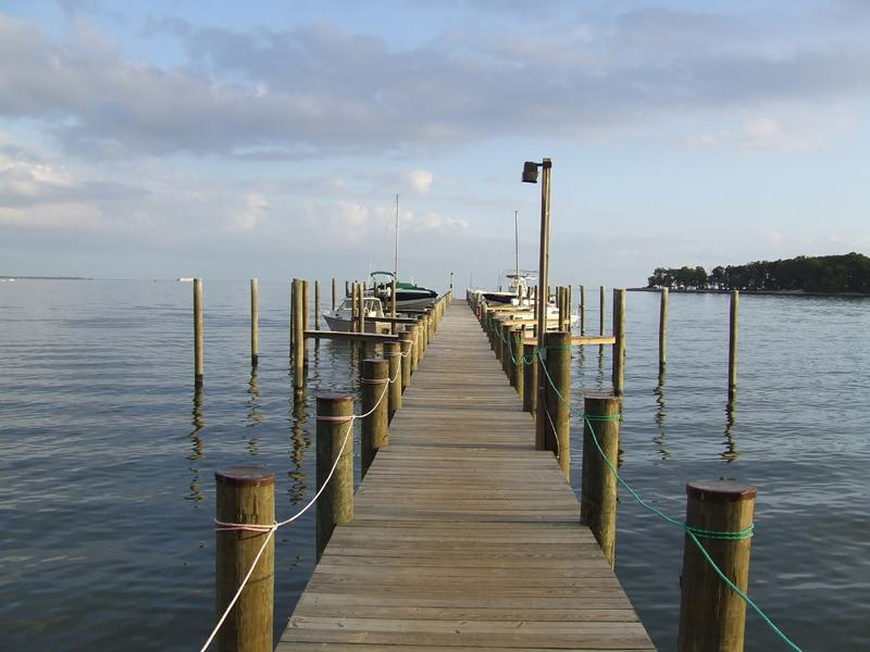 Exclusive Pier with (Opt) Boat Slips - great for fishing & crabbing, too!