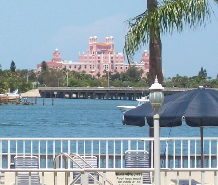 The Don Cesar from the pool area
