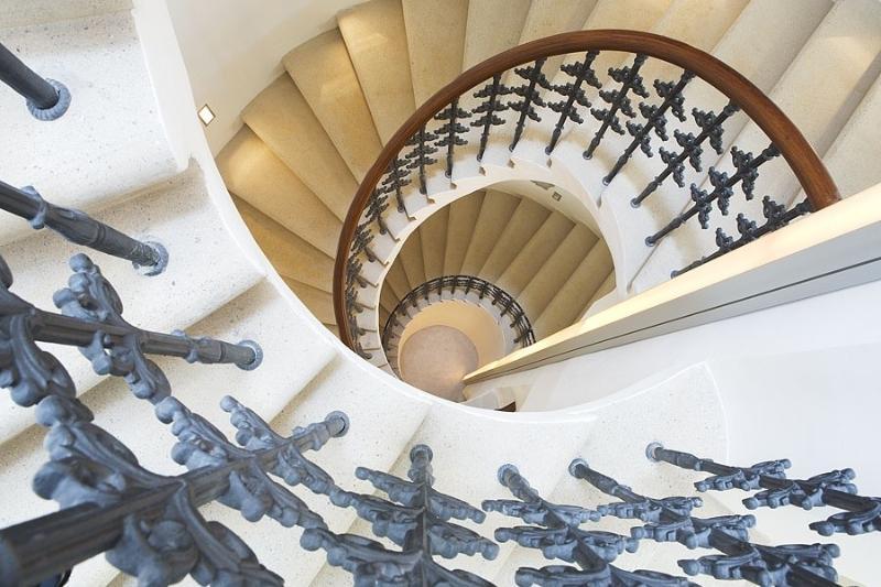 Appartements Retezova - escalier