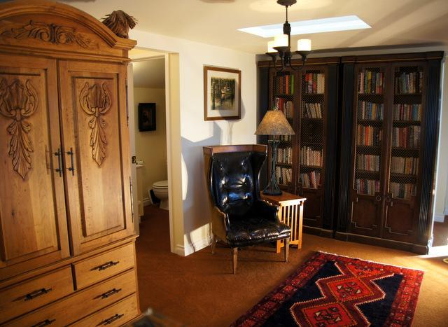Library with wardrobe