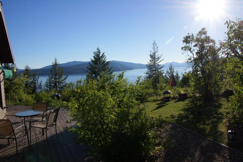 Views from deck of lake