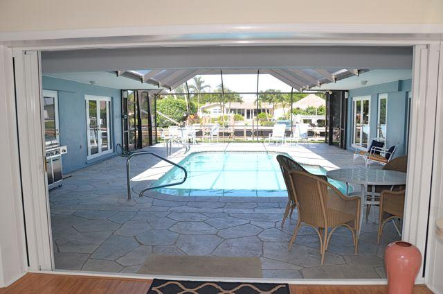 Courtyard, Pool, BBQ, Lanai provide an integrated outdoor living space - enjoy Florida at its best!