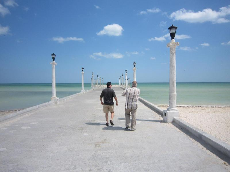 pier in Sisal