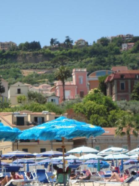 Villa Viewed from Beach