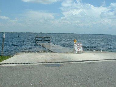 Sebring-rampa-Lake Jackson en barco
