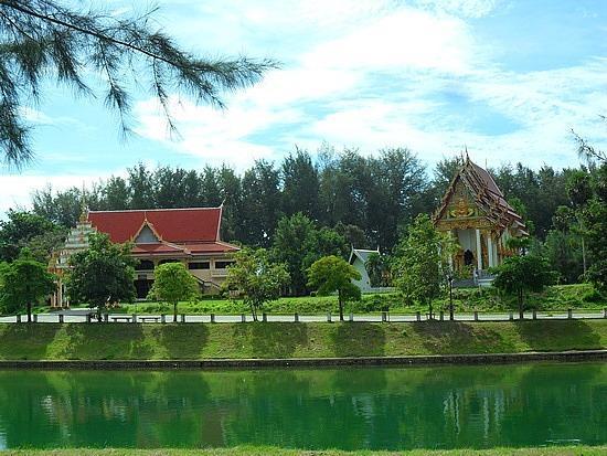 Nai Harn Park and Temple 2 mins.walk from The Sands Nai Harn Beach Phuket