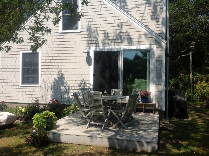 Cottage deck & south side