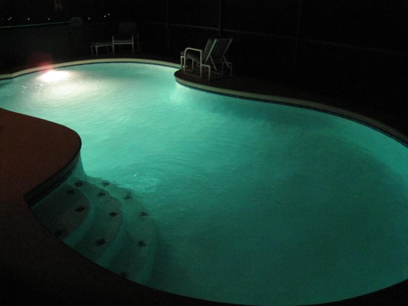 pool lights for late night swims