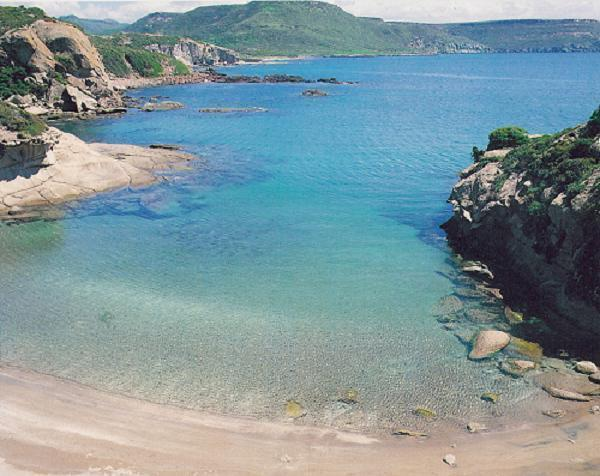 Secluded Cove on Bosa-Alghero