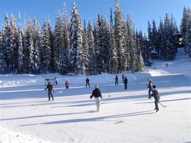 skating rink and tubing just 5 minutes walk