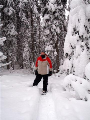 Great snowshoeing trails