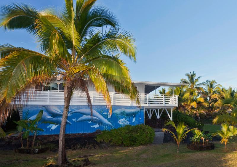 Stunning Ocean Views - Whale House Hawaii, holiday rental in Keaau