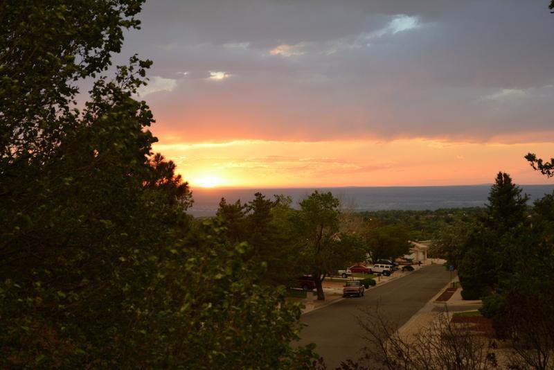 Master Balcony Sunset View