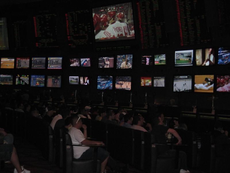 Sports betting at the MGM Grand