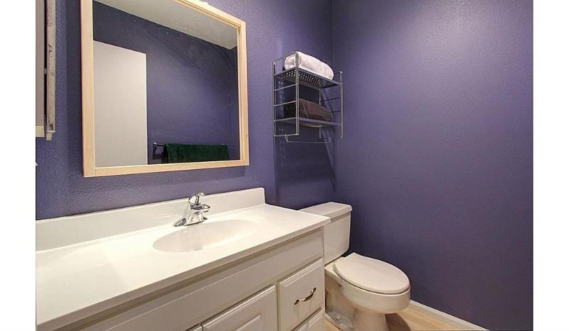 Powder Room for added convenience