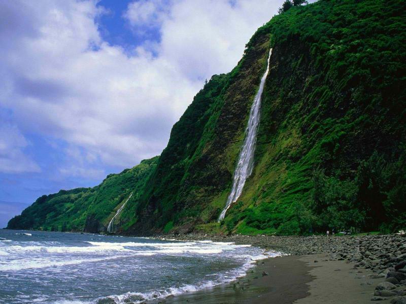 Beautiful waterfalls