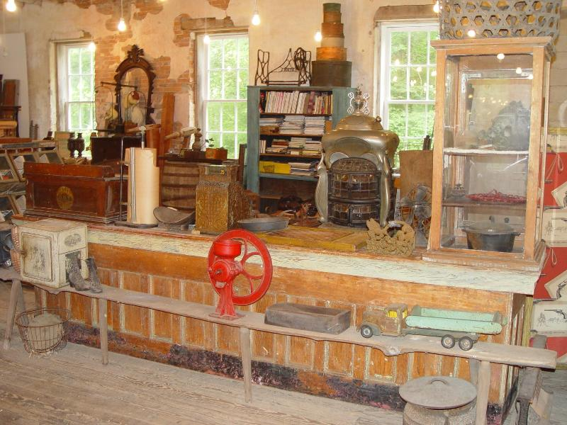 Mill Interior with country store display