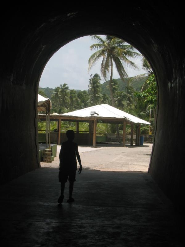 Historic site of El Tunnel de Guajataca