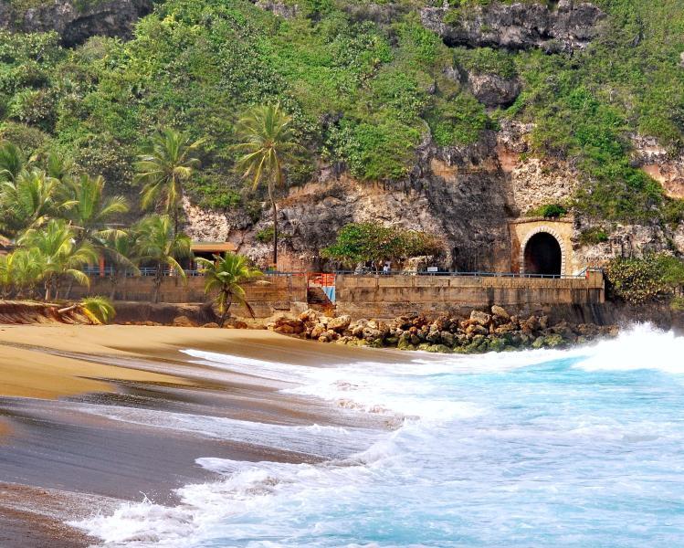 Nearby Guajataca beach