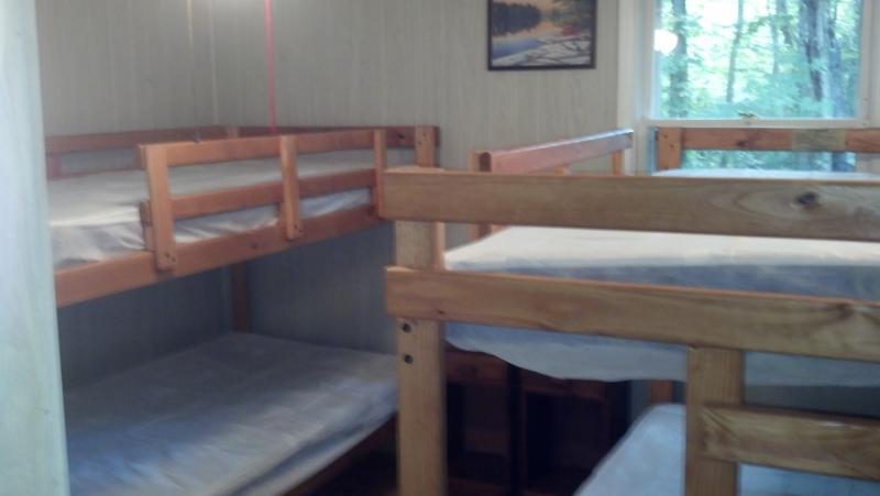 Large bedroom - two bunks, sleeps 4