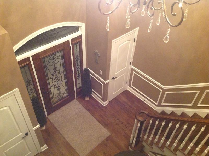 Zweigeschossiges Foyer