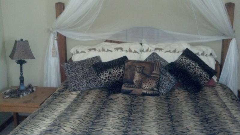 nice and big king bed