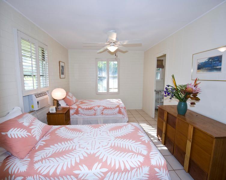 Chambre 2-2 x lits jumeaux
