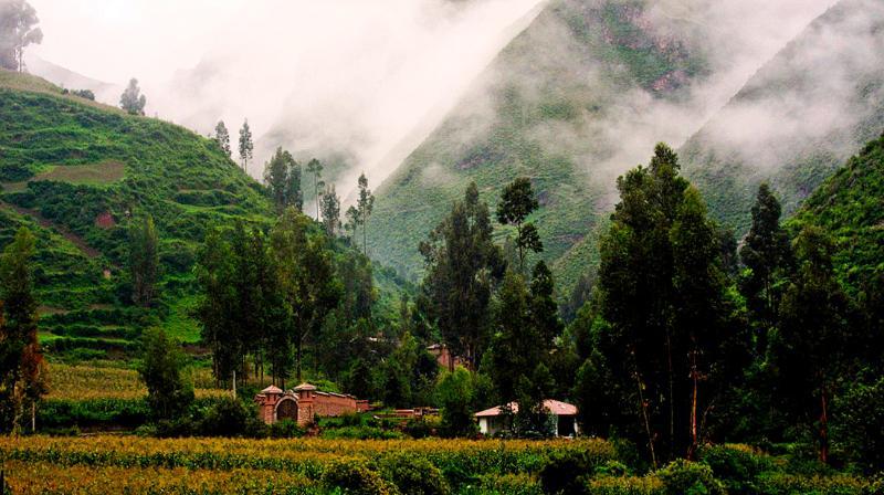 Vista panoramica di Cusco Villas
