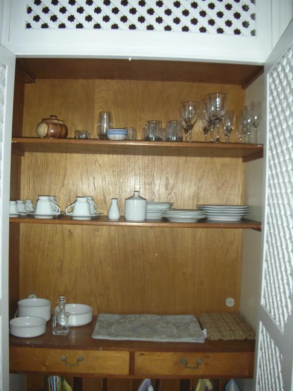 dinnerware and glassware