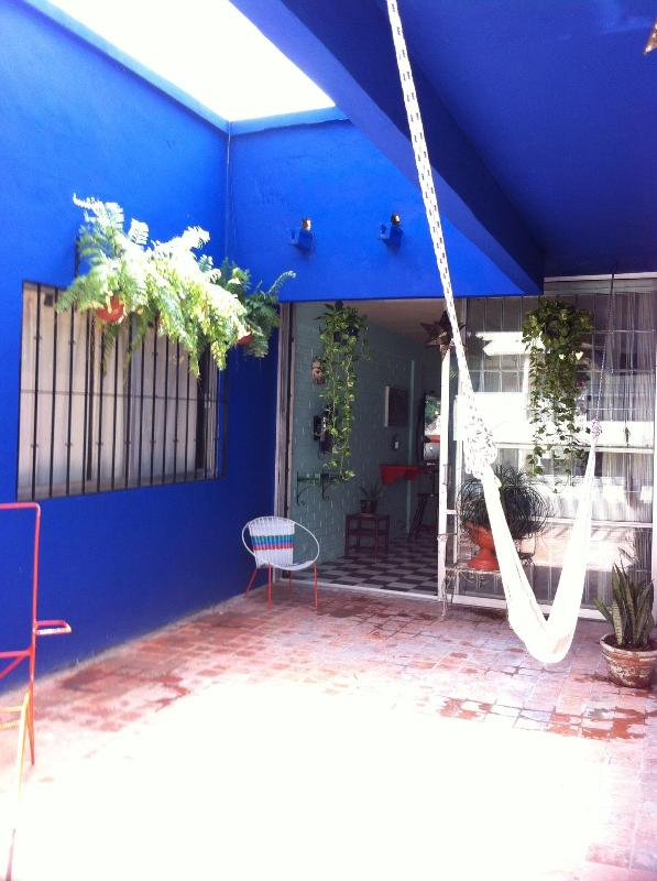 View of the entrance to the apartment, from the sun Terrace