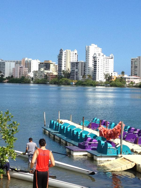 Beautiful morning at the Condado Lagoon!