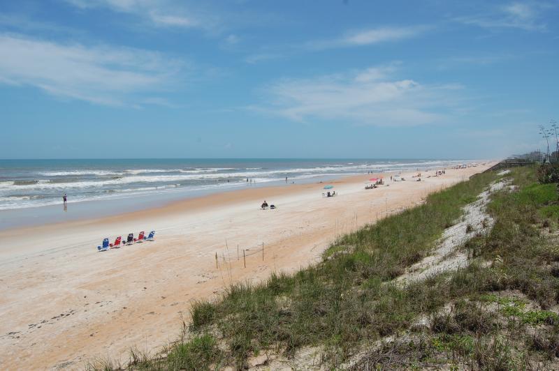 Gorgeous, traffic-free beach