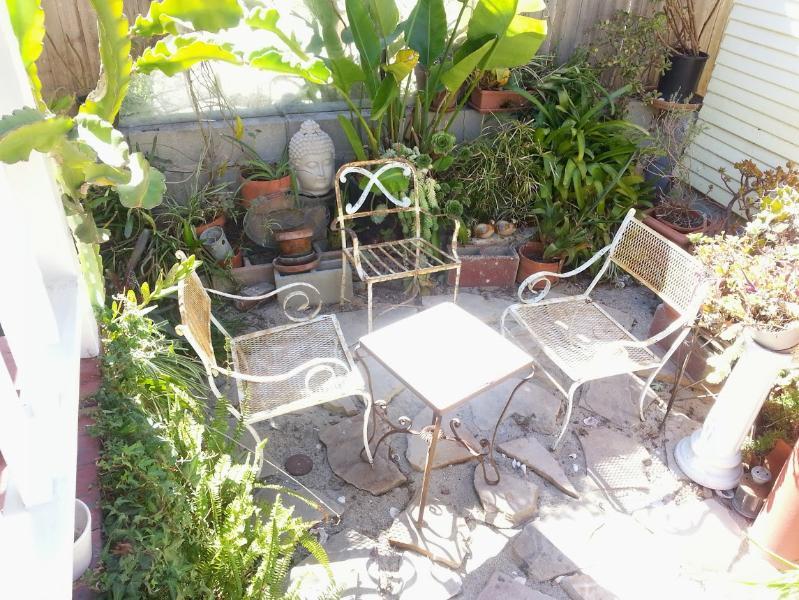 Outside Garden Area