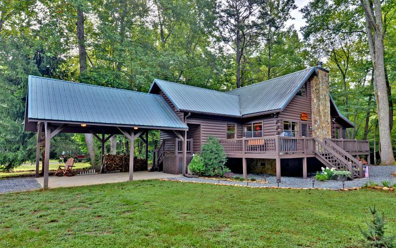 Trout Run Cabin, Blue Ridge, Georgia
