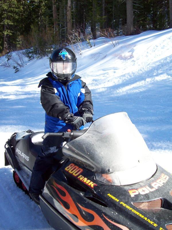 Snowmobiling-Gold Lake Rd
