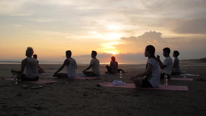 La plage est à 500m et tout simplement merveilleux pour le coucher de soleil yoga ou simple plage promenades